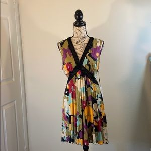 NWT Authentic MISSONI V Neck Floral Dress